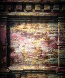 3d old wall, antique architecture background Royalty Free Stock Photos