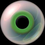 3d oogappel Stock Afbeeldingen