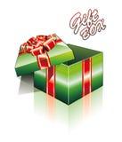 3D Open Gift Box Stock Image