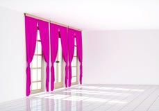 3d opróżniają renderingu pokój Fotografia Stock
