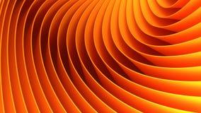 3d orange lines background vector illustration