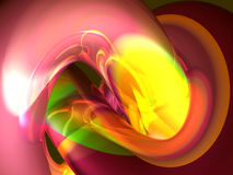 3d organic abstract Stock Image