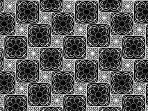 3d ornamental detail- abstract art background. 3d ornamental detail- abstract art- black background Royalty Free Stock Photos