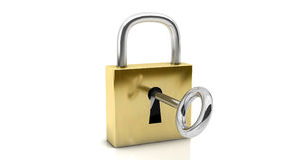 3d padlocks Stock Images