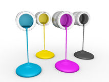 3D Paint Dripping, Stock Photo