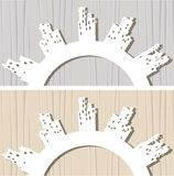 3d  paper Royalty Free Stock Images