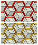 3D Patroon van de Kubus Stock Foto's