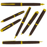 3D pen die op wit wordt geïsoleerdn. stock illustratie