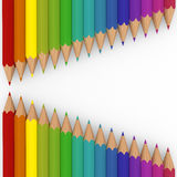 3d pencil colorful Royalty Free Stock Photography