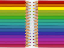 3d pencil colorful Royalty Free Stock Images