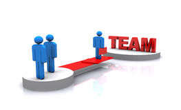 3d people team work Stock Images