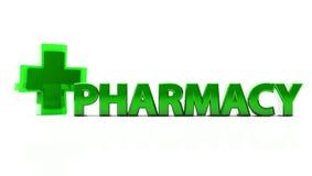 3d pharmacy Royalty Free Stock Photos
