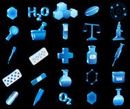 3d pharmacy icon Stock Images