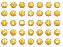3d pictogrammen royalty-vrije illustratie