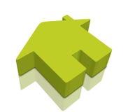 3D pictogrammen van het Huis Royalty-vrije Stock Fotografie