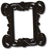 3D Picture Frame. Eps file available Royalty Free Stock Photography