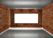 3d picture gallery Stock Photo