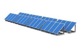 3D pile solari 04 Immagine Stock