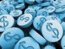 3d pills stock illustration