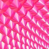 3D - Pink pricks. 3D - Pink chrome prick pattern Stock Photos