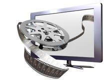 3D piombo la televisione Fotografia Stock Libera da Diritti