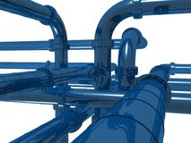 3d pipeline Royalty Free Stock Photography