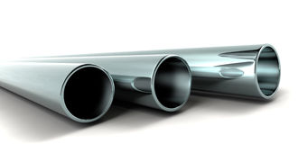 3d Pipes Royalty Free Stock Photo