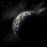3D Planeet van de Aarde Stock Foto's