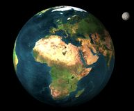 3D plantet Earth Royalty Free Stock Images