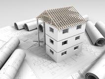 3D planu rysunek Obraz Stock