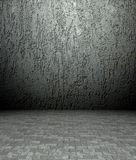 3d plaster and concrete texture, empty interior Stock Photos