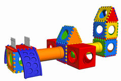 3D playground Stock Image