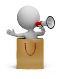 3d povos pequenos - oferta especial ilustração stock