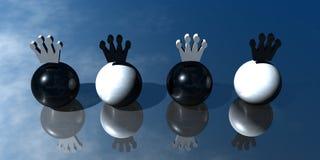 3D Presentatie van het Embleem Stock Foto