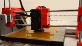 3d printing stock video footage