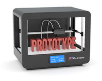 3D printing Royalty Free Stock Image