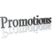 3D Promotions Royalty Free Stock Image
