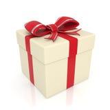 3d pudełkowaty prezent Obraz Stock