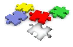 3d puzzel Stock Fotografie