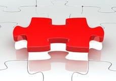 3d. Puzzle del puzzle Immagine Stock