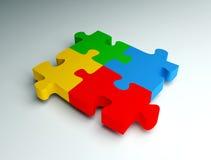 3d puzzles. Stock Images