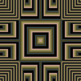 3d quadrierte Quertapete Stockbilder