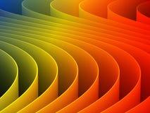 3d que torna colorido Imagens de Stock
