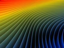 3d que torna colorido Imagens de Stock Royalty Free