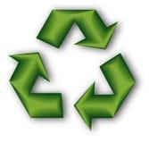 3d réutilisent le symbole Photo libre de droits