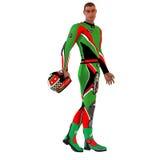 3D Racer Stock Image