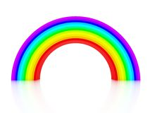 3d rainbow Stock Images