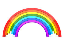 3D Rainbow Royalty Free Stock Photos
