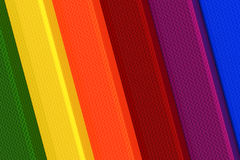 3d rainbow elements Royalty Free Stock Photography
