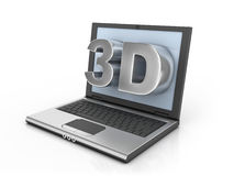 3d ready notebook Stock Photo